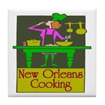 New Orleans Cooking Experience Tile Coaster