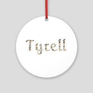 Tyrell Seashells Round Ornament