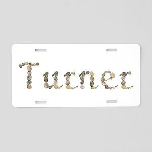 Turner Seashells Aluminum License Plate