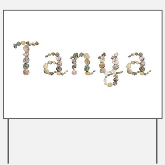 Tanya Seashells Yard Sign