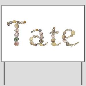 Tate Seashells Yard Sign