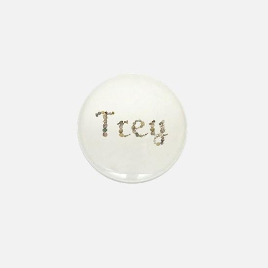 Trey Seashells Mini Button