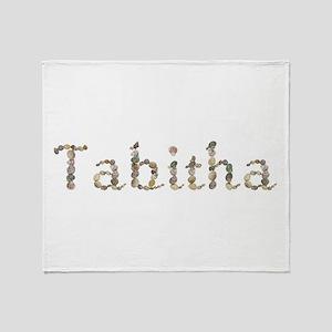 Tabitha Seashells Throw Blanket