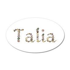 Talia Seashells Wall Decal