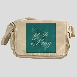 Let Us Pray Messenger Bag