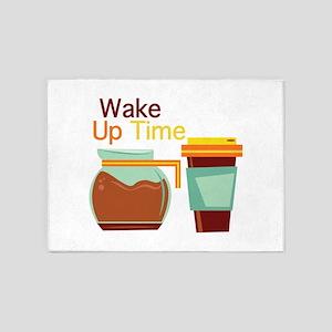 Wake Up Time 5'x7'Area Rug