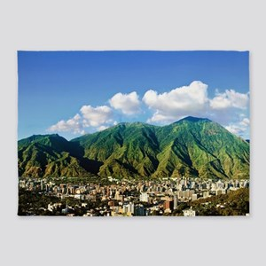 National Park of El Avila, Caracas 5'x7'Area Rug