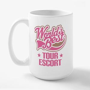 Tour Escort Large Mug