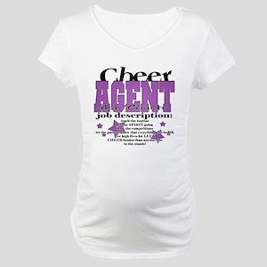 cheer agent Maternity T-Shirt