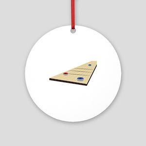 Shuffle Board Ornament (Round)