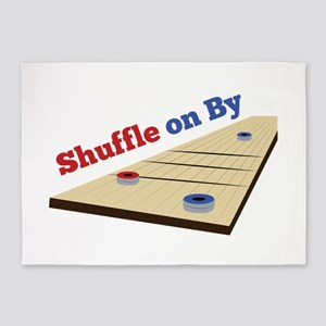 Shuffle on By 5'x7'Area Rug