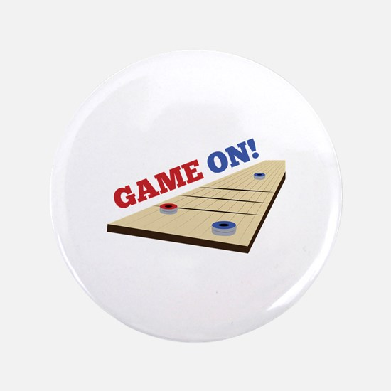 "Game On! 3.5"" Button"