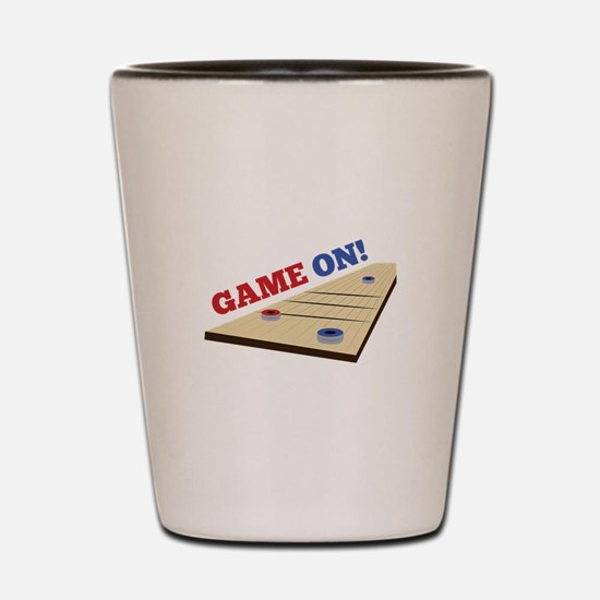 Game On! Shot Glass
