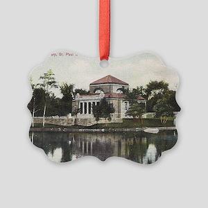 St. Paul School, Concord, NH 1910 Picture Ornament