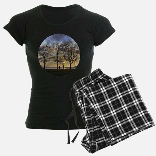 Golden fair and dark Pajamas