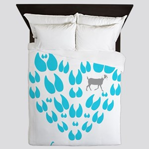 Nubian Goats Always Room Queen Duvet