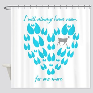 Nubian Goats Always Room Shower Curtain