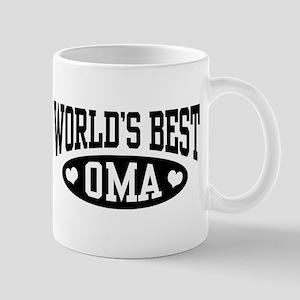 World's Best Oma Mug