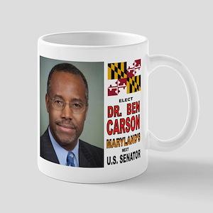 DR. BEN CARSON FOR US SENATOR Mugs