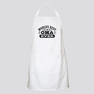 World's Best Oma Ever Apron