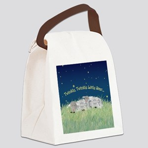 Twinkle Twinkle Little Star Sleeping Sheep Canvas