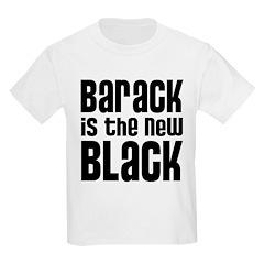 Barack is the New Black Kids Light T-Shirt