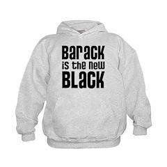 Barack is the New Black Kids Hoodie