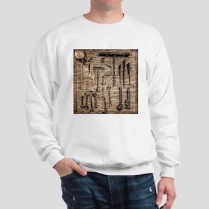 Vintage Farm Tools Sweatshirt