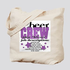 Cheer Crew aka Mom Tote Bag