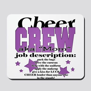 Cheer Crew aka Mom Mousepad