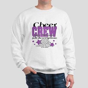 Cheer Crew aka Mom Sweatshirt