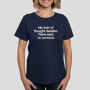 Train of Thought Women's Dark T-Shirt