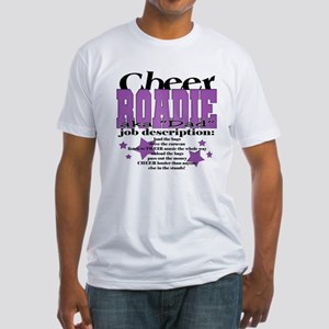 Cheer Roadie Dad Fitted T-Shirt