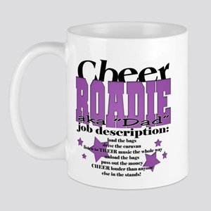 Cheer Roadie Dad Mug