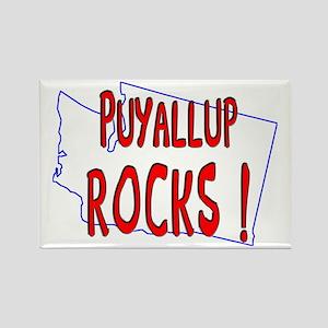 Puyallup Rocks ! Rectangle Magnet