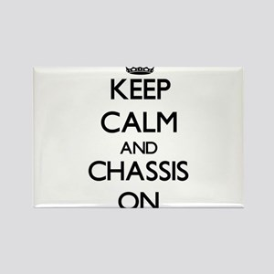 Keep Calm and Chassis ON Magnets