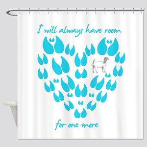 Boer Goat Room for one more Shower Curtain