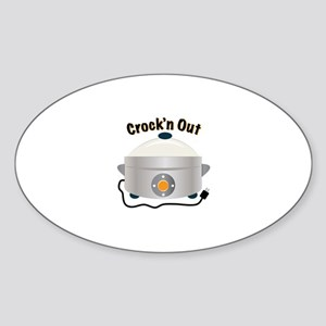 Crockn Out Sticker