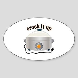 Crock it Up Sticker