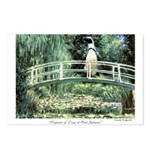 Claude Penguinet Postcards (Package of 8)