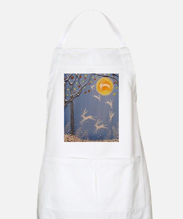 Dance of the moon hares Apron