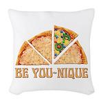 Be You-Nique Woven Throw Pillow