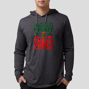 Im Full Of Christmas Spirit I Long Sleeve T-Shirt