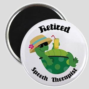 Retired Speech Therapist Turtle Magnets