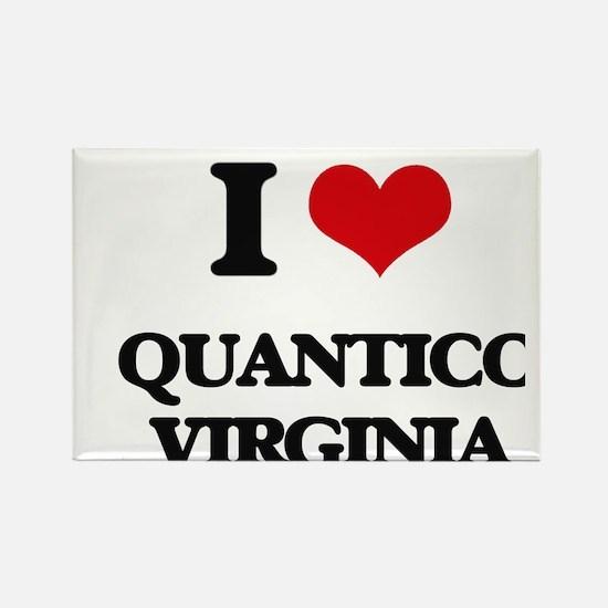 I love Quantico Virginia Magnets