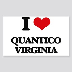 I love Quantico Virginia Sticker