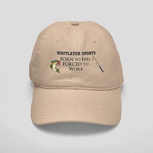 Whitlatch Sports Born To Fish Cap