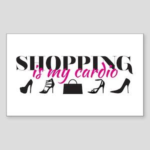 SATC: Shopping Is My Cardio Sticker