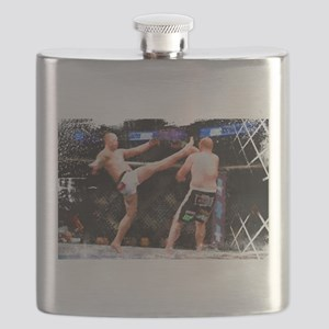 Mixed Martial Arts - A Kick to the Head Flask