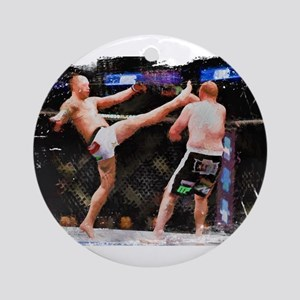Mixed Martial Arts - A Kick to th Ornament (Round)
